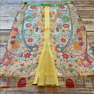 Anthropologie Etcetera Skirt Size 2